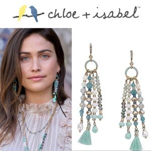 🆕 La Plage Tassel Earrings GOLD c+i E510BLAG
